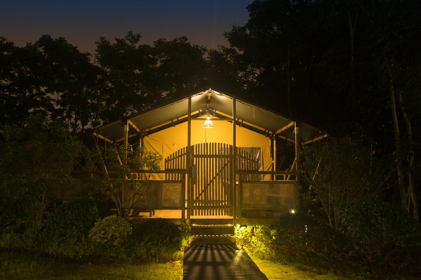 喜马拉雅上海迪士尼邻家营地子母房平地帐篷酒店8