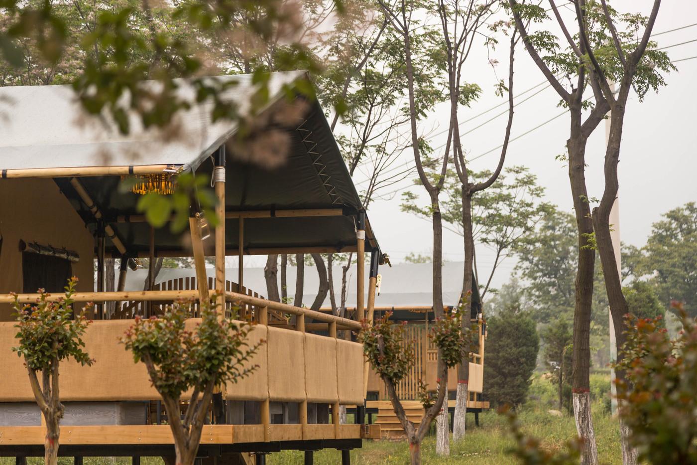 喜马拉雅野奢帐篷酒店—华山自驾游露营地(78平)6