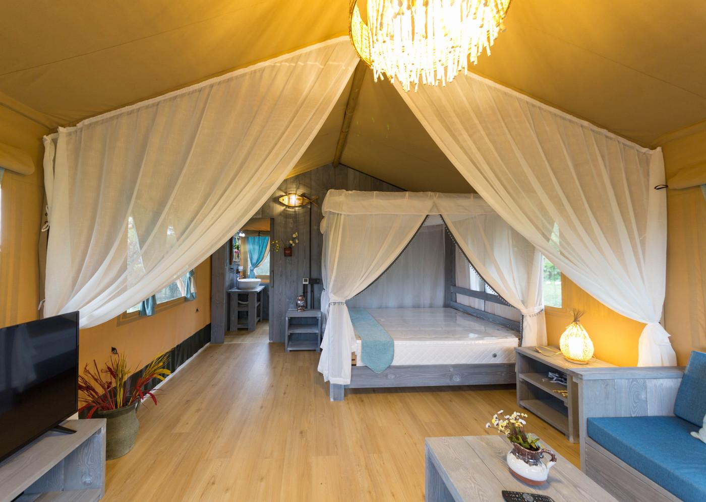 喜马拉雅野奢帐篷酒店—华山自驾游露营地(54平)19