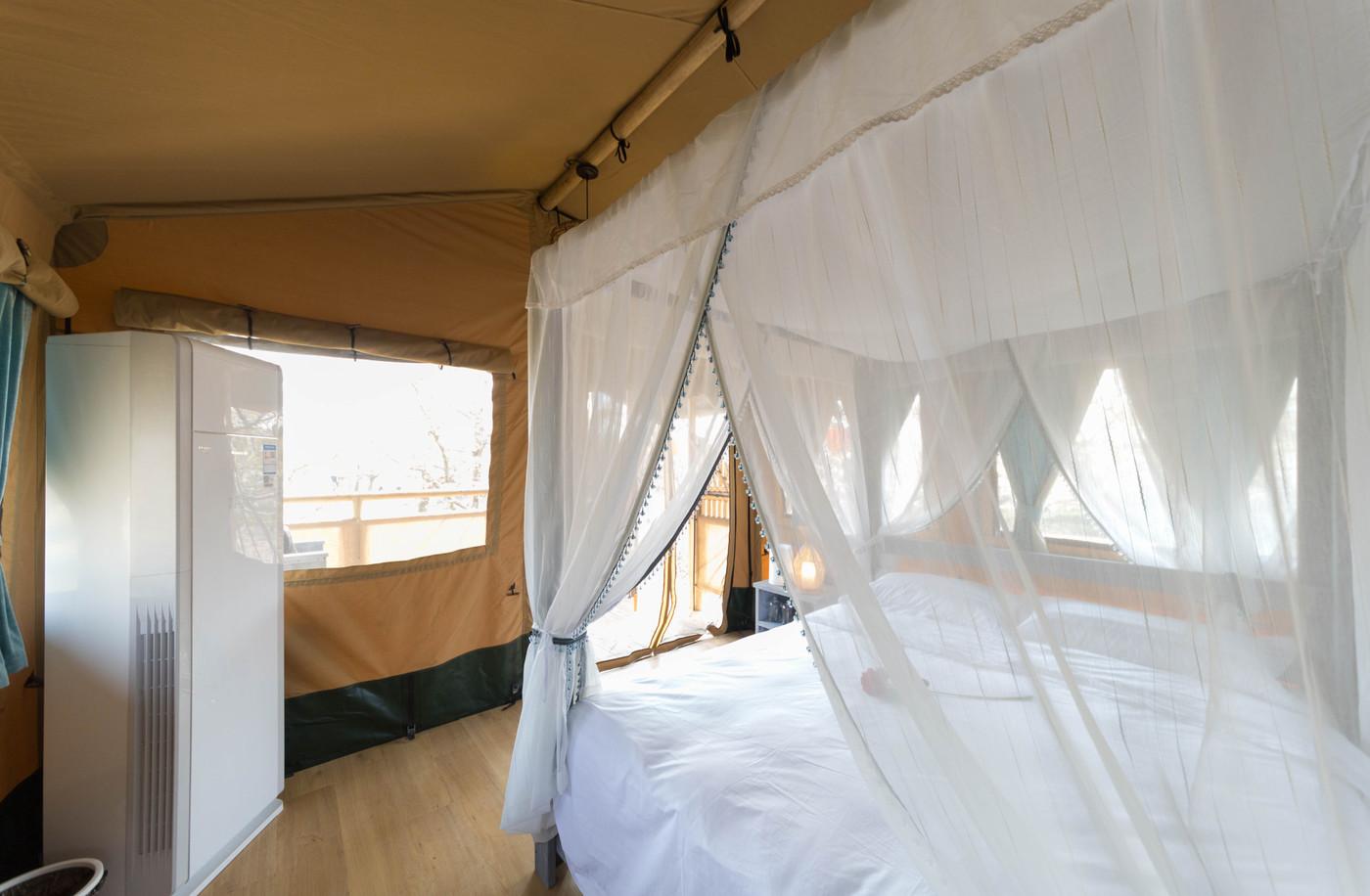 喜马拉雅野奢帐篷酒店—安徽砀山 东篱蓬芦(梨园41平)26