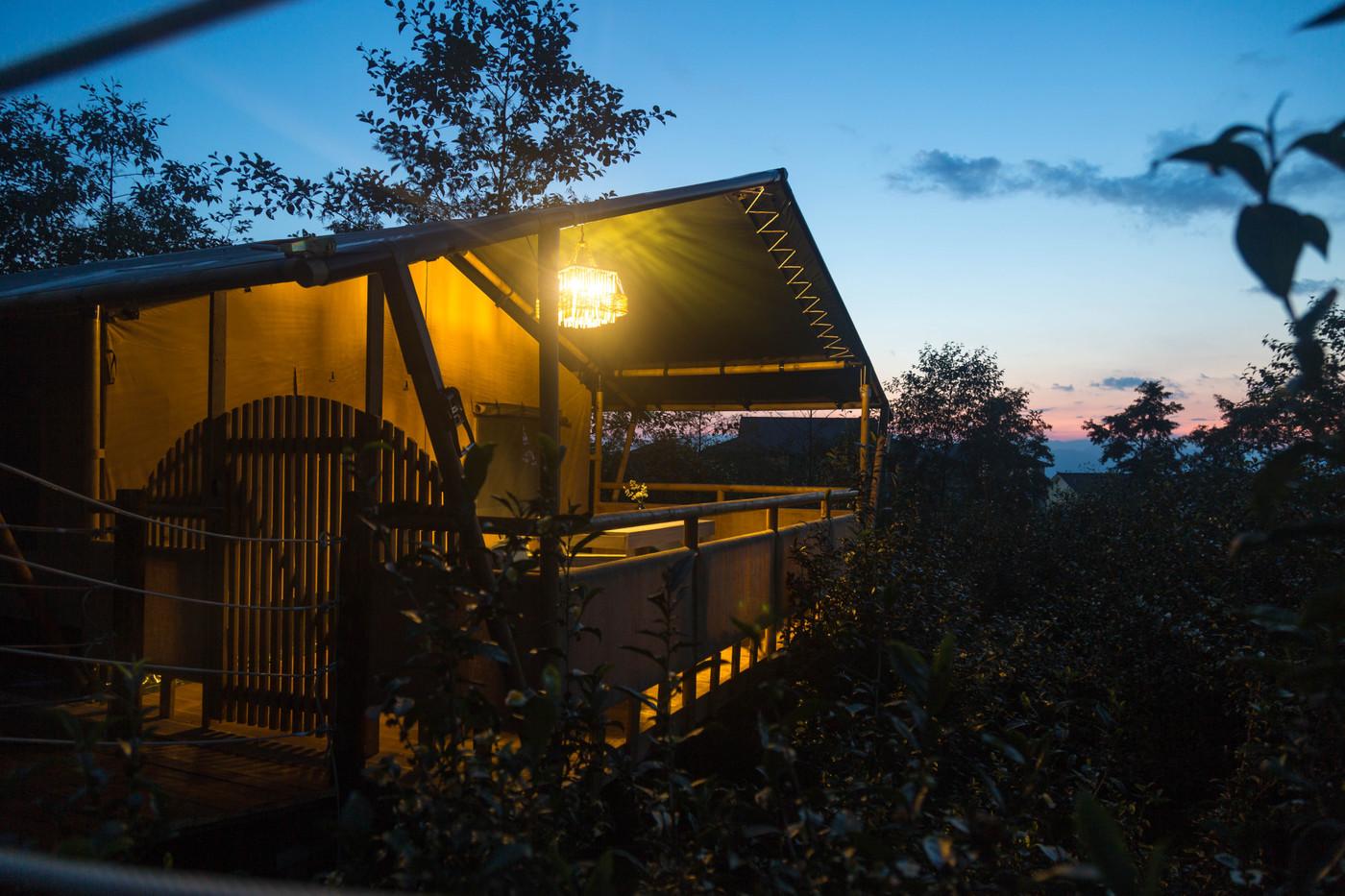 喜马拉雅野奢帐篷酒店—云南腾冲高黎贡山茶博园31