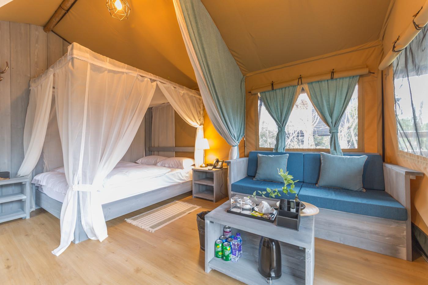喜马拉雅上海迪士尼邻家营地子母房平地帐篷酒店16