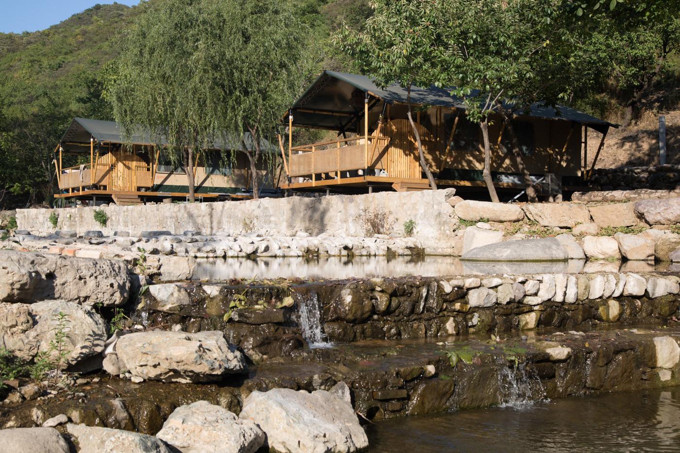 喜马拉雅野奢帐篷酒店一北京石头 剪刀 布一私享院子 54平山谷型  9
