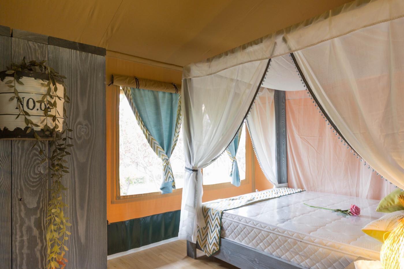 喜马拉雅野奢帐篷酒店—华山自驾游露营地(78平)24
