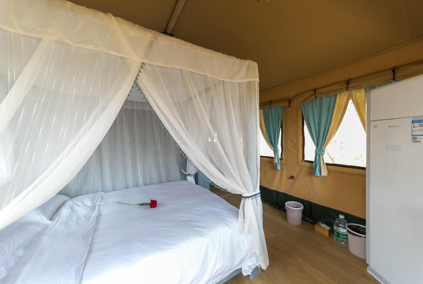 喜马拉雅野奢帐篷酒店—安徽砀山 东篱蓬芦(梨园41平)24