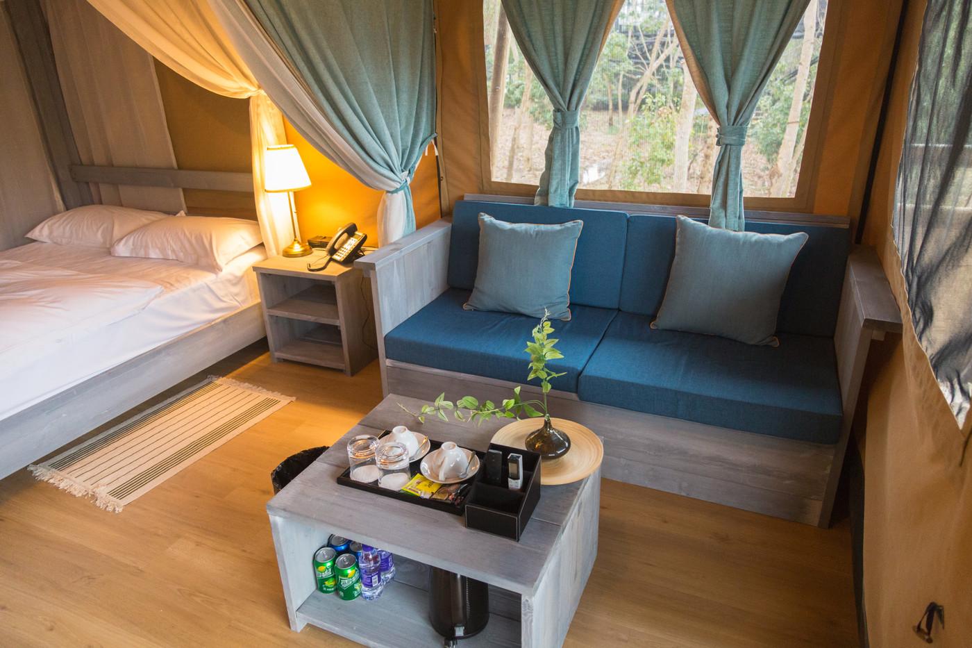 喜马拉雅上海迪士尼邻家营地子母房平地帐篷酒店18