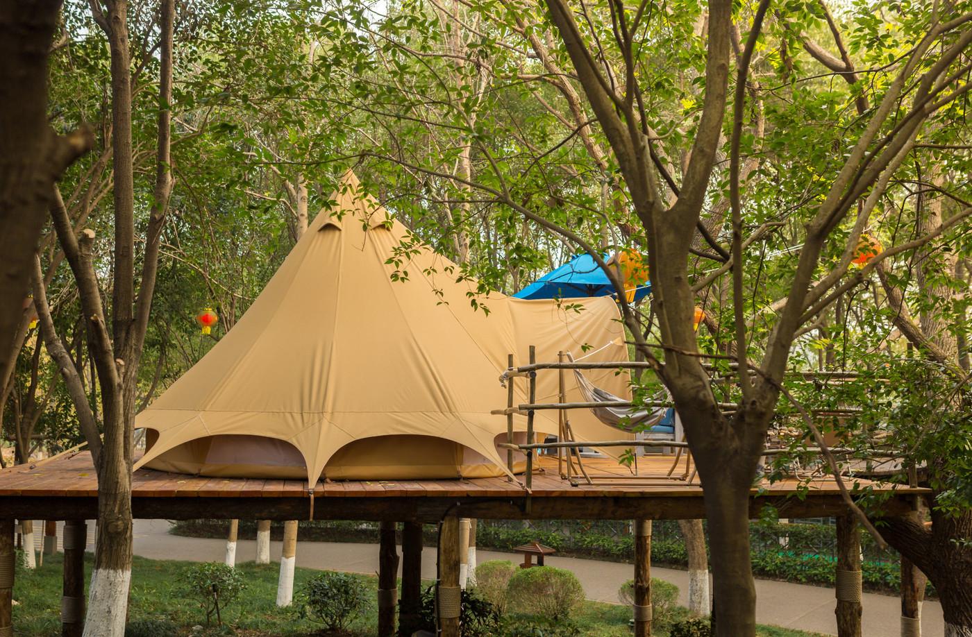 喜马拉雅野奢帐篷酒店—江苏常州天目湖树屋帐篷酒店23