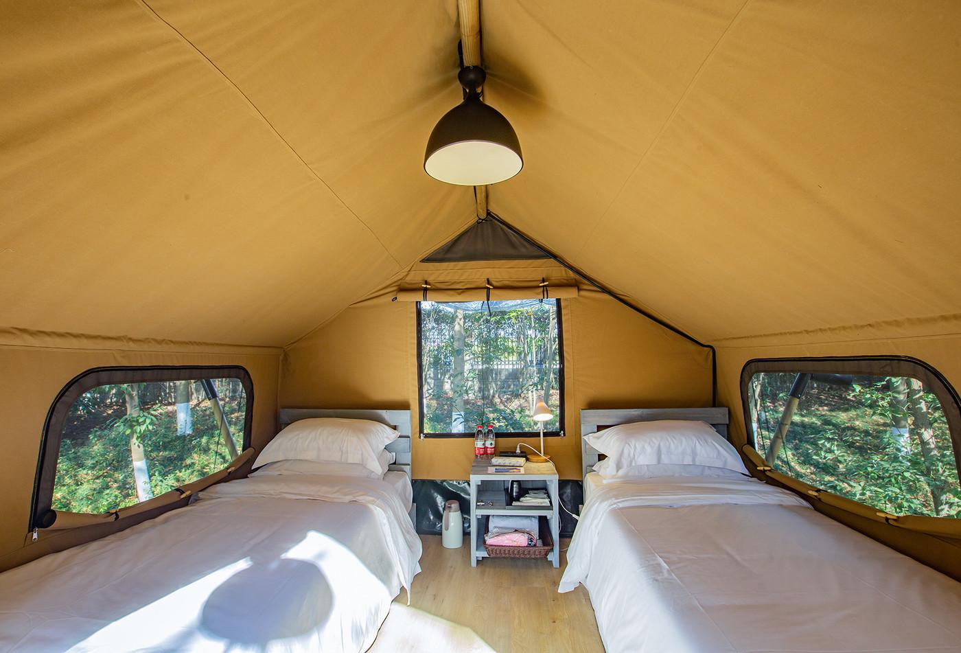 喜马拉雅野奢帐篷酒店—江苏常州天目湖树屋16