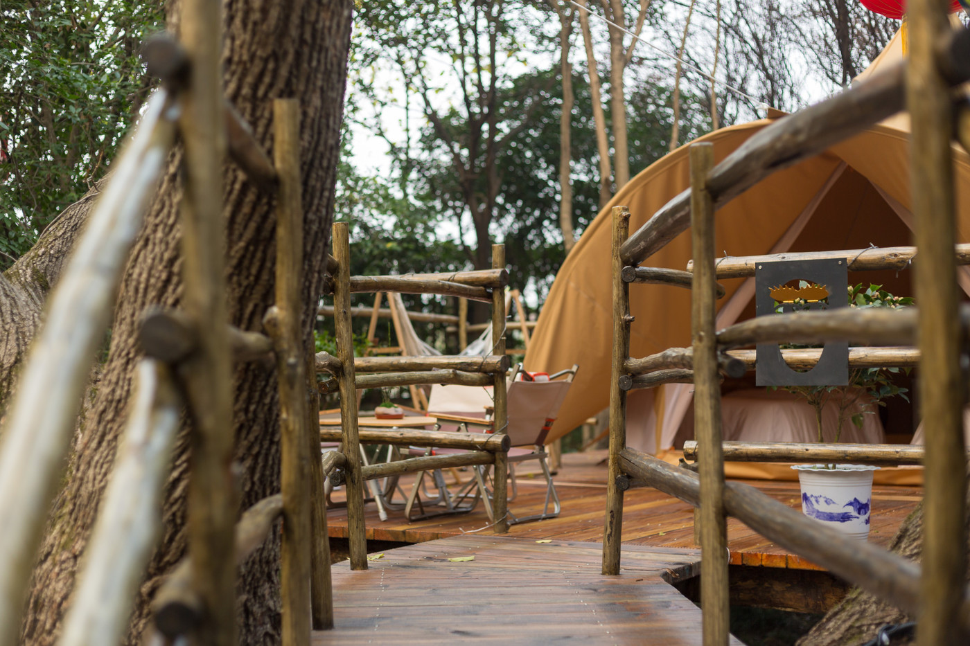 喜马拉雅野奢帐篷酒店—江苏常州天目湖树屋30