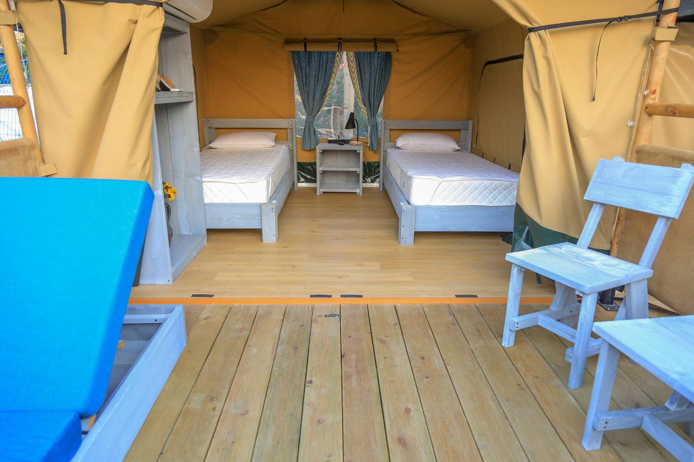 喜马拉雅上海迪士尼邻家营地子母房平地帐篷酒店31