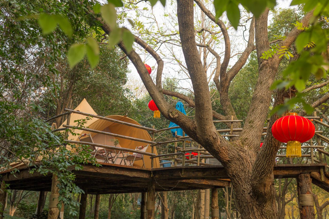 喜马拉雅野奢帐篷酒店—江苏常州天目湖树屋19