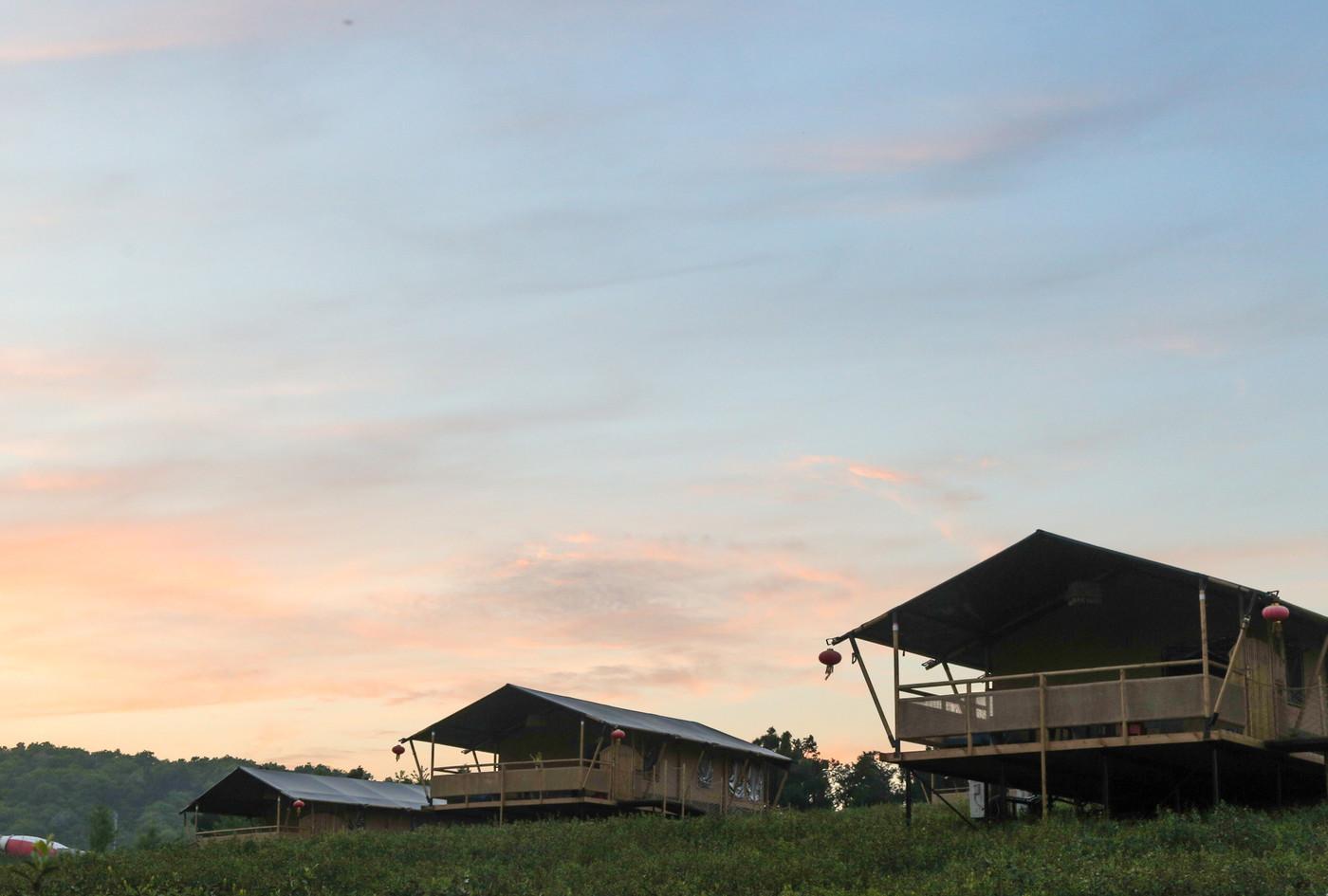 喜马拉雅野奢帐篷酒店—江苏常州茅山宝盛园2期茶田帐篷酒店10