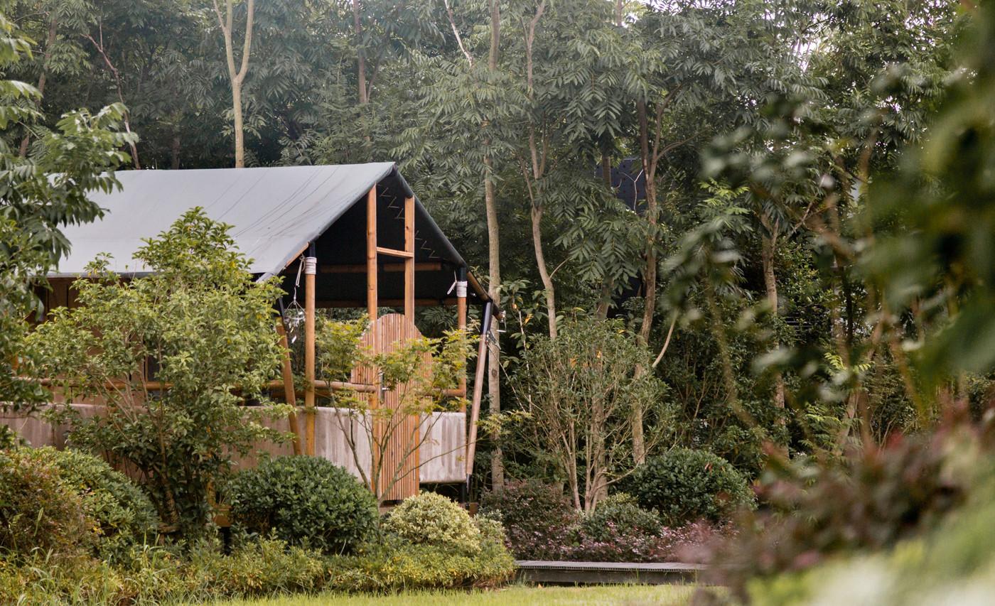 喜马拉雅上海迪士尼邻家营地子母房平地帐篷酒店6