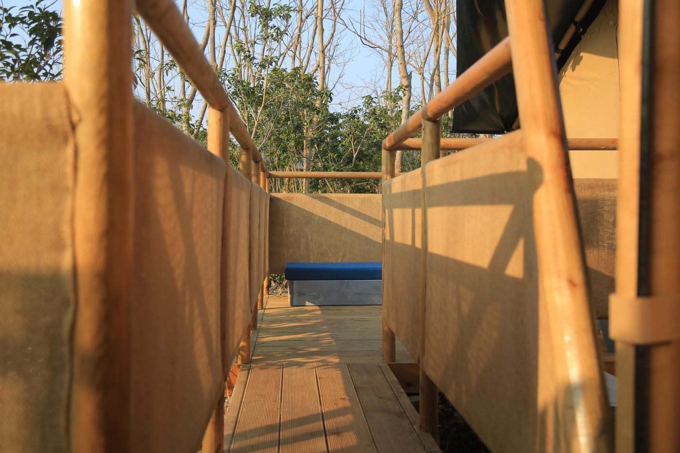 喜马拉雅上海迪士尼邻家营地子母房平地帐篷酒店12