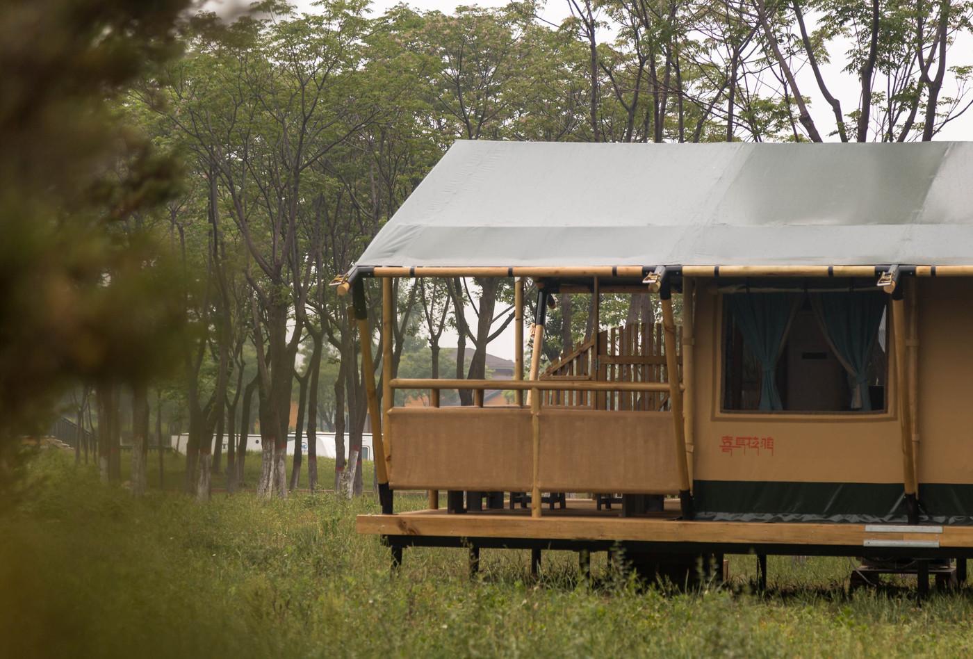 喜马拉雅野奢帐篷酒店—华山自驾游露营地(54平)5