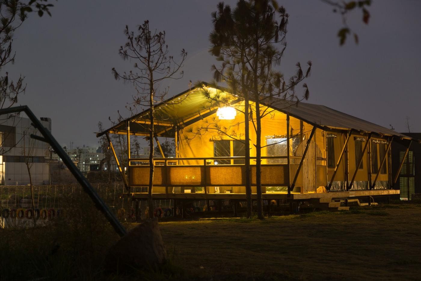 喜马拉雅野奢帐篷酒店—浙江留香之家露营地帐篷酒店(78平)16