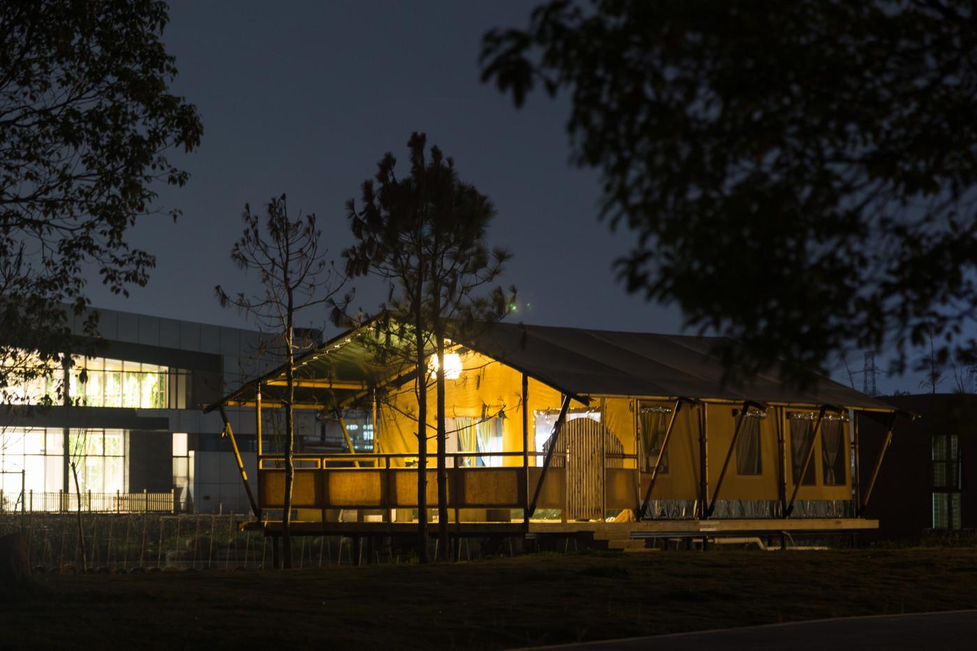 喜马拉雅野奢帐篷酒店—浙江留香之家露营地帐篷酒店(78平)18