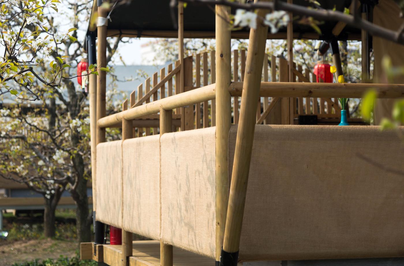 喜马拉雅野奢帐篷酒店—安徽砀山东篱蓬芦梨园帐篷酒店5