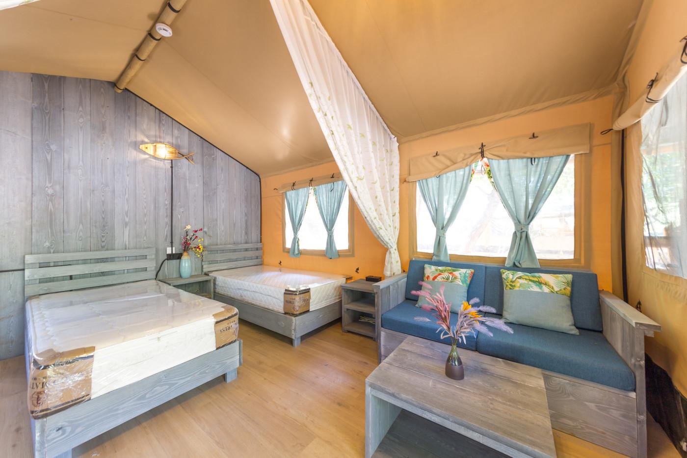 喜马拉雅野奢帐篷酒店一北京石头 剪刀 布一私享院子 54平山谷型  33