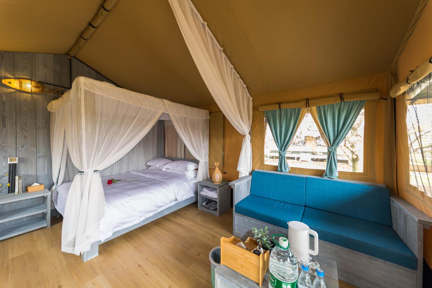 喜马拉雅野奢帐篷酒店—安徽砀山东篱蓬芦梨园帐篷酒店17