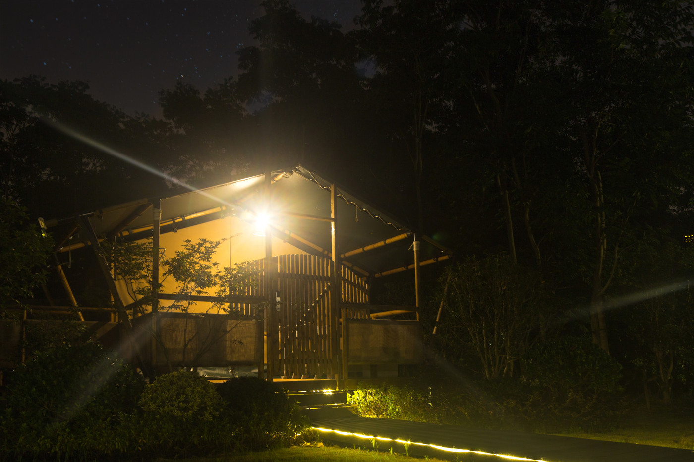 喜马拉雅上海迪士尼邻家营地子母房平地帐篷酒店9