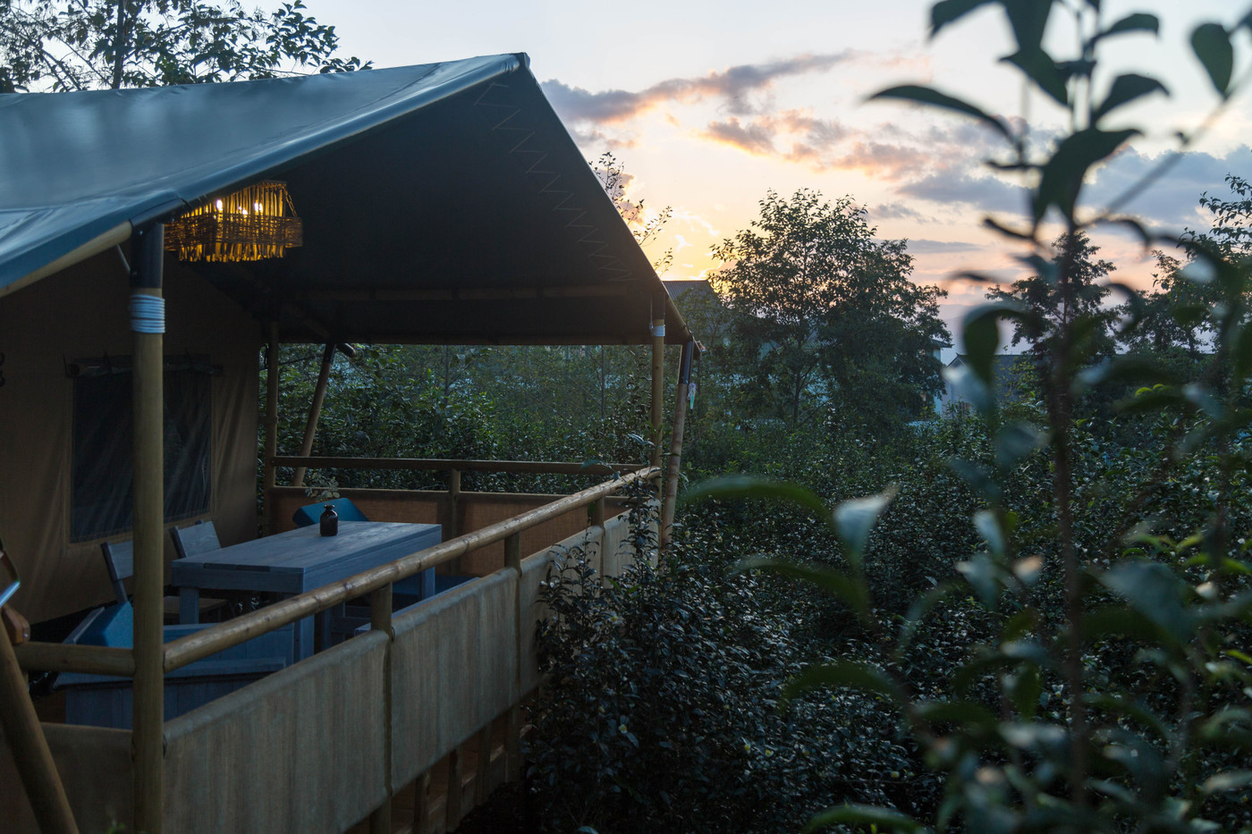 喜马拉雅野奢帐篷酒店—云南腾冲高黎贡山茶博园27