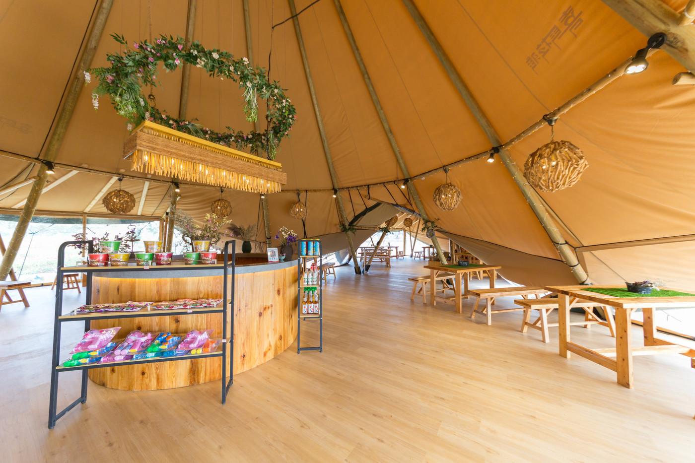 喜马拉雅印第安多功能大厅—淮安白马湖生态旅游度假区23