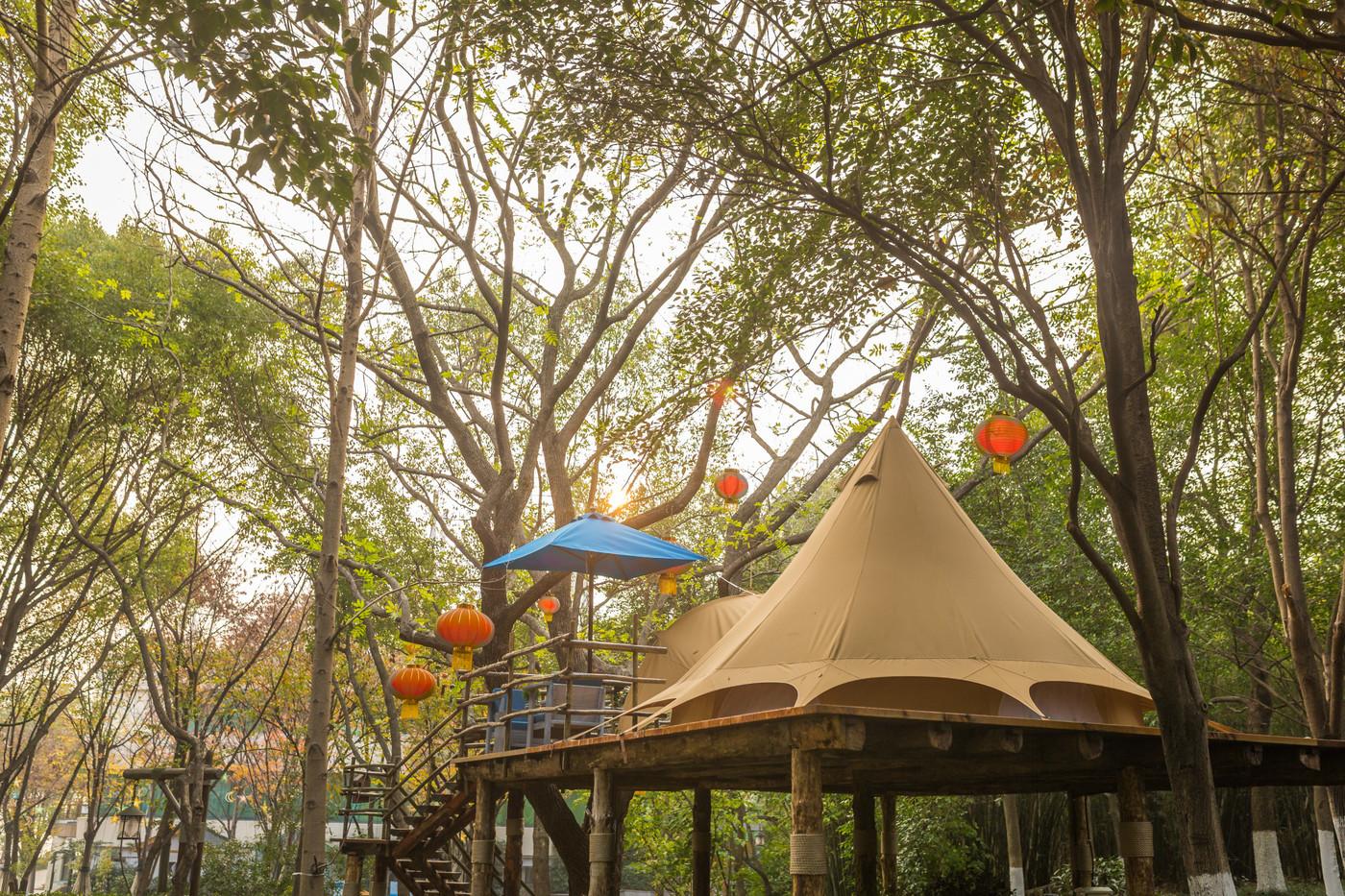 喜马拉雅野奢帐篷酒店—江苏常州天目湖树屋24