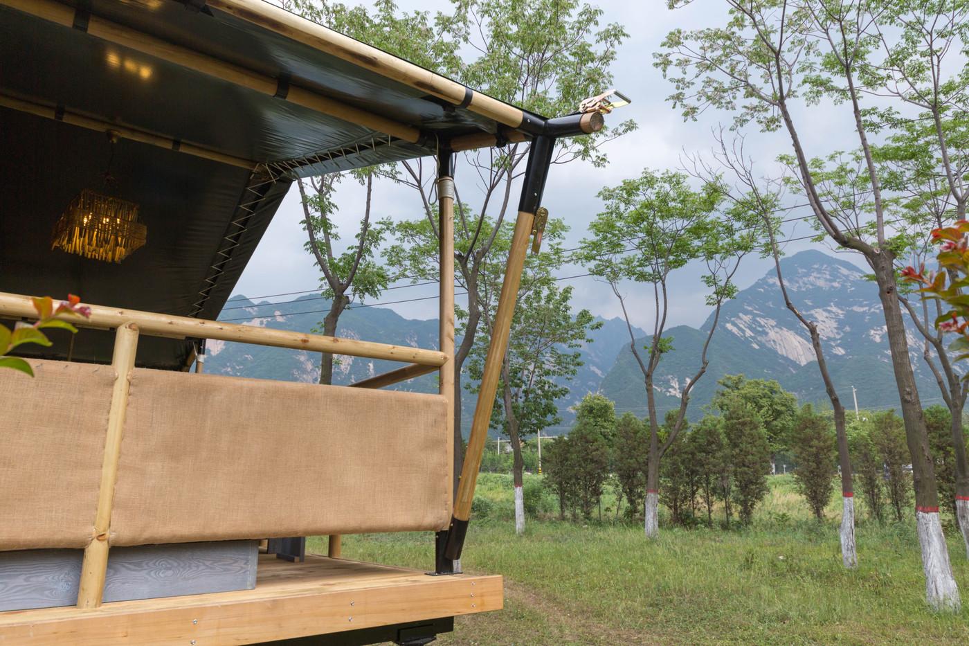喜马拉雅野奢帐篷酒店—华山自驾游露营地(78平)8