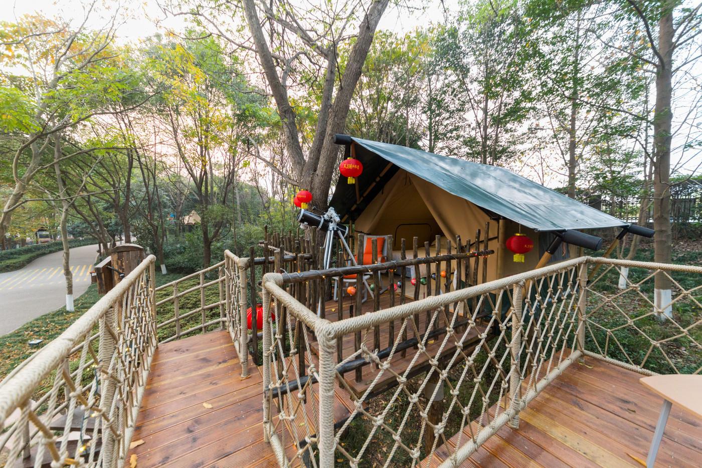 喜马拉雅野奢帐篷酒店—江苏常州天目湖树屋11