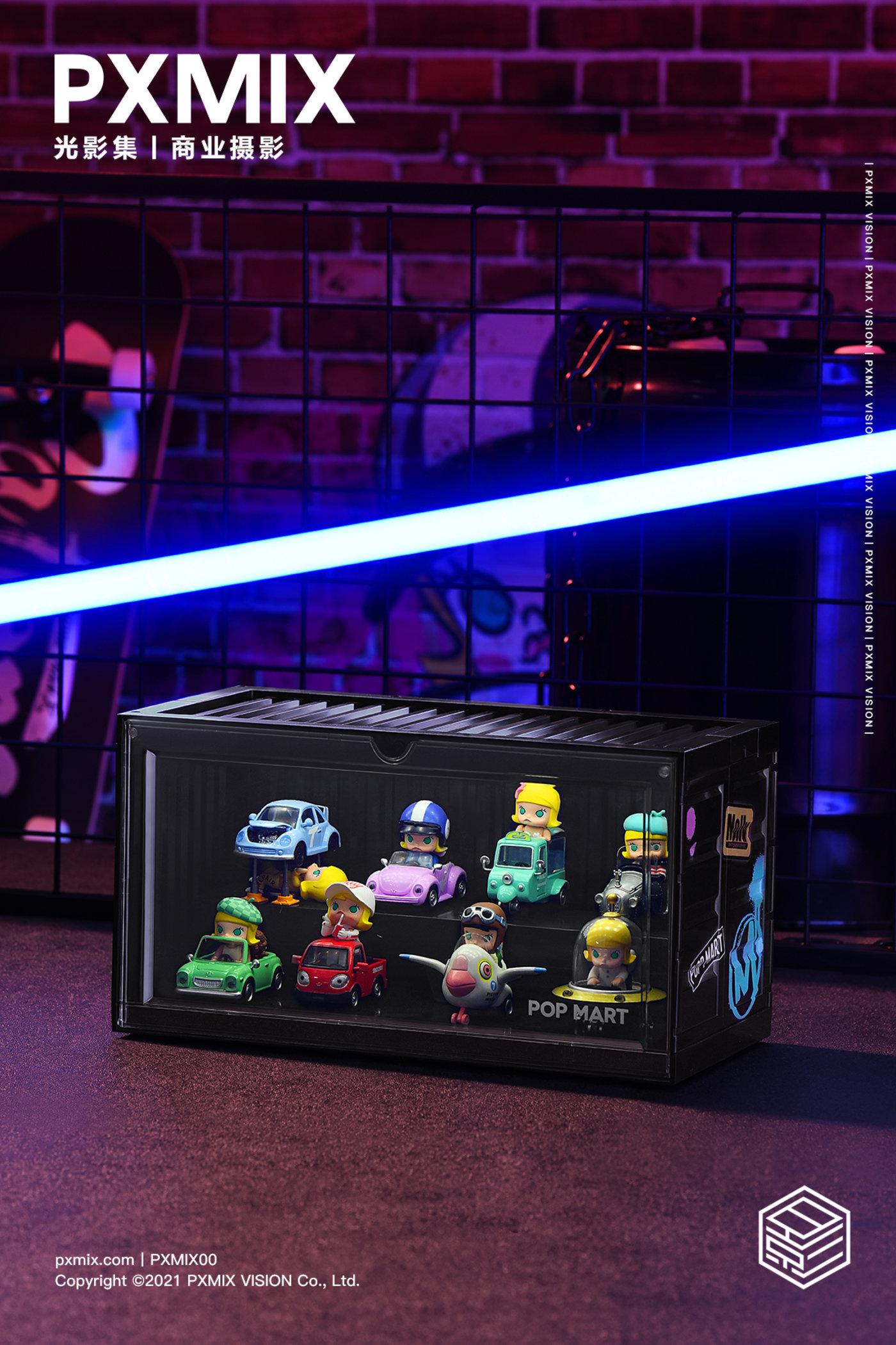 泡泡玛特MOLLY展示盒3