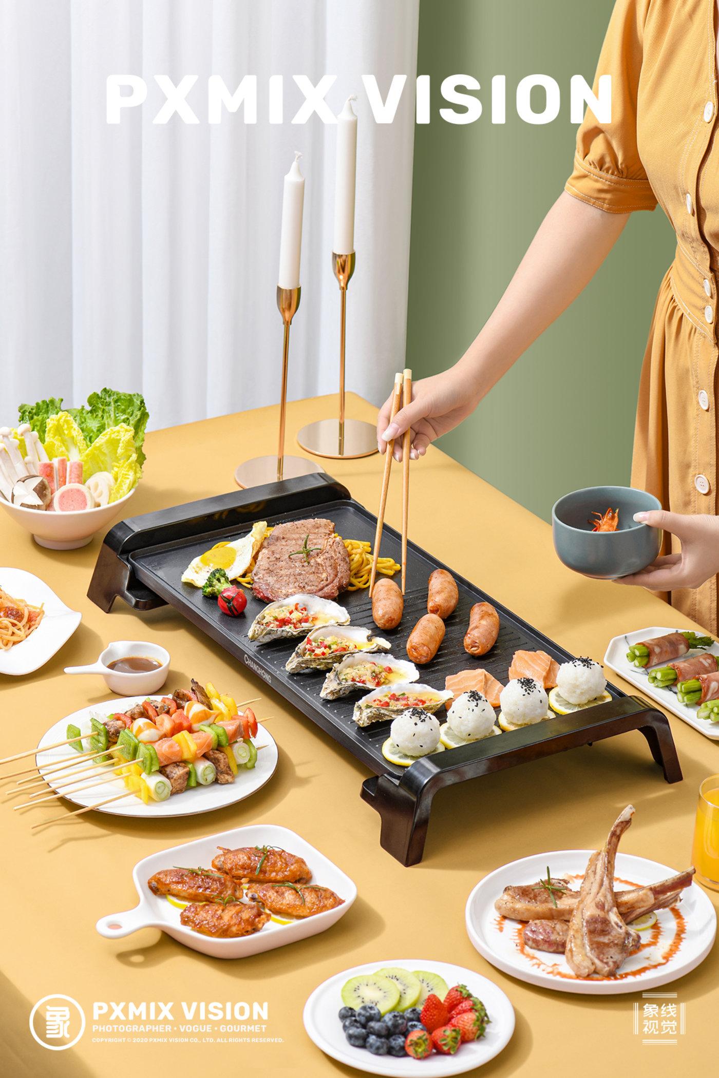 长虹 电烤盘6