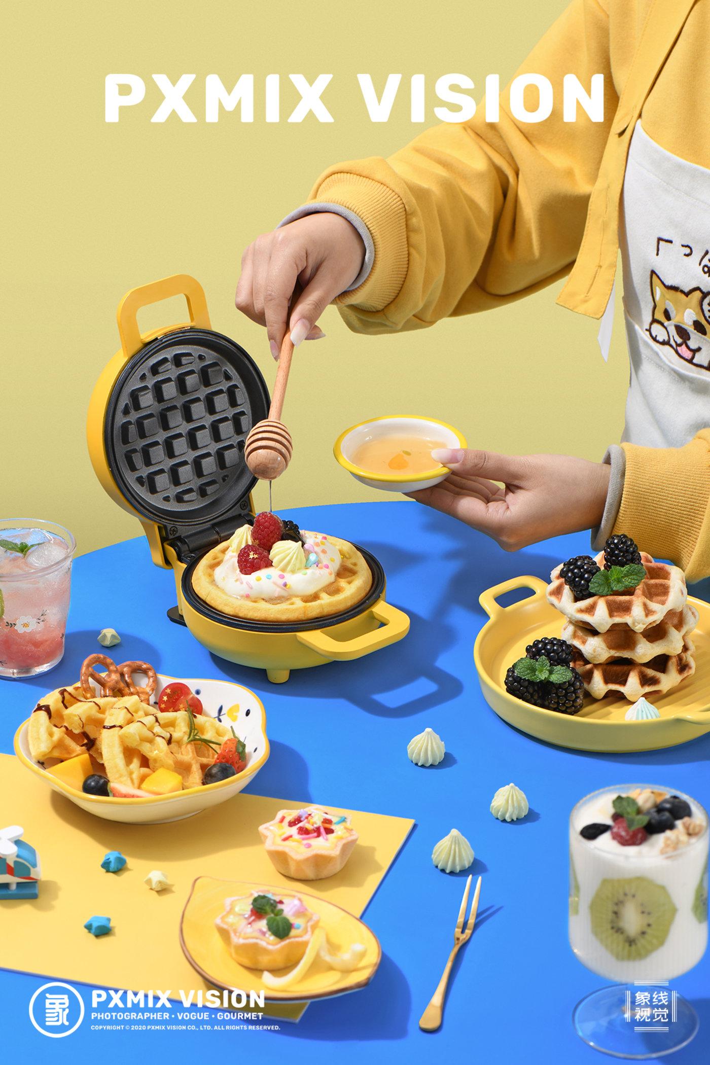 利仁 华夫饼机3