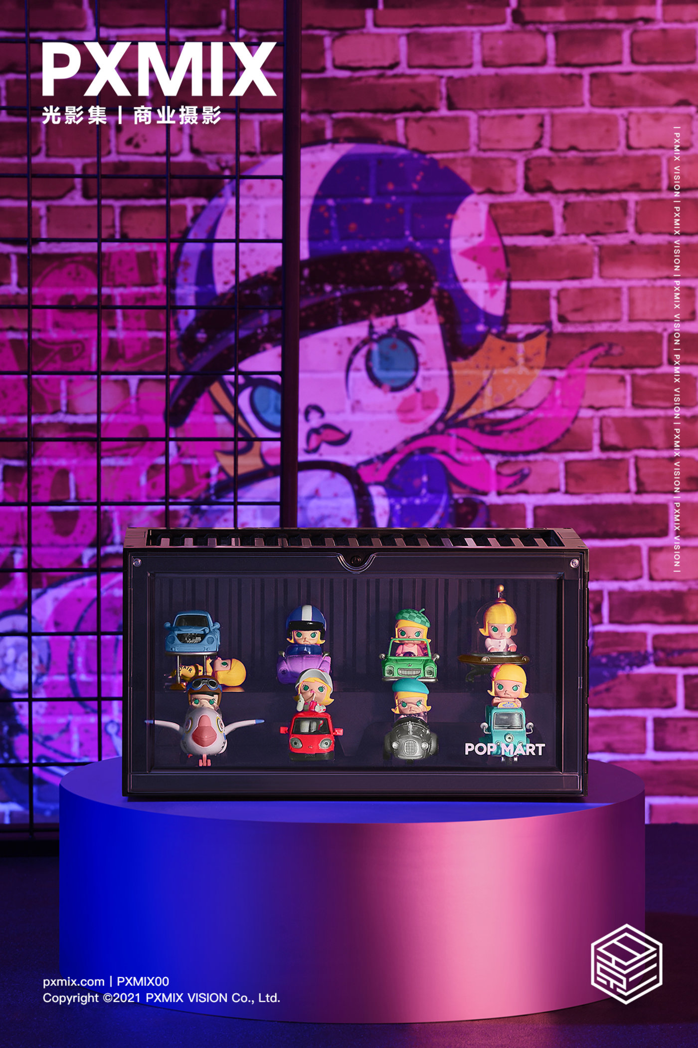 泡泡玛特MOLLY展示盒0