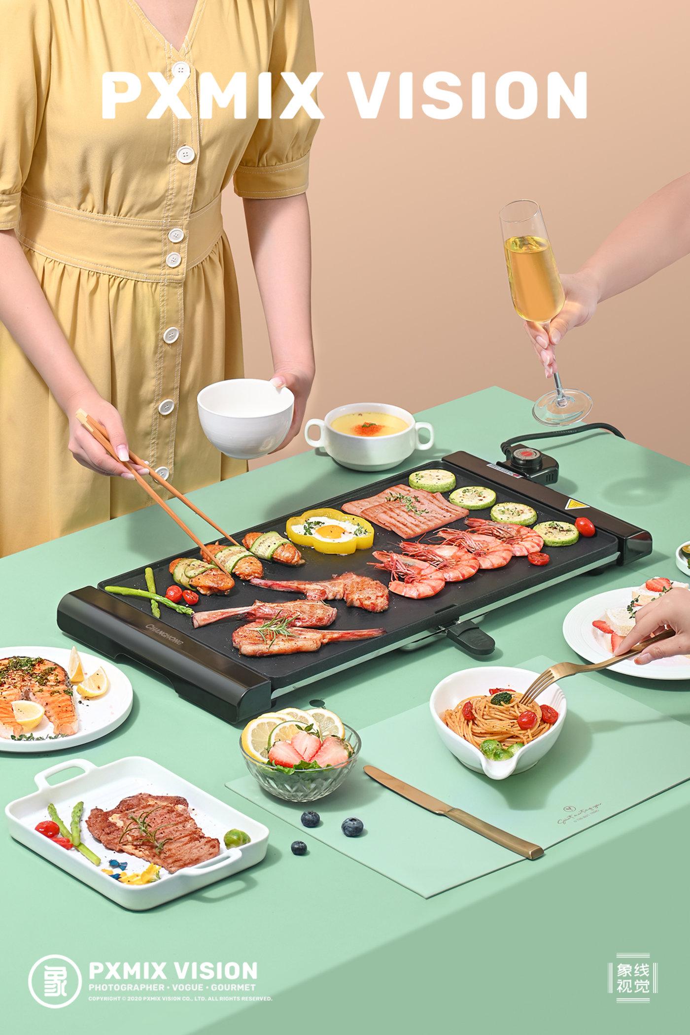 长虹 电烤盘9