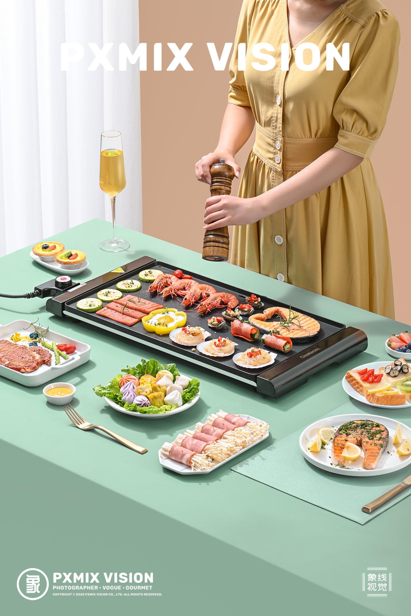 长虹 电烤盘10