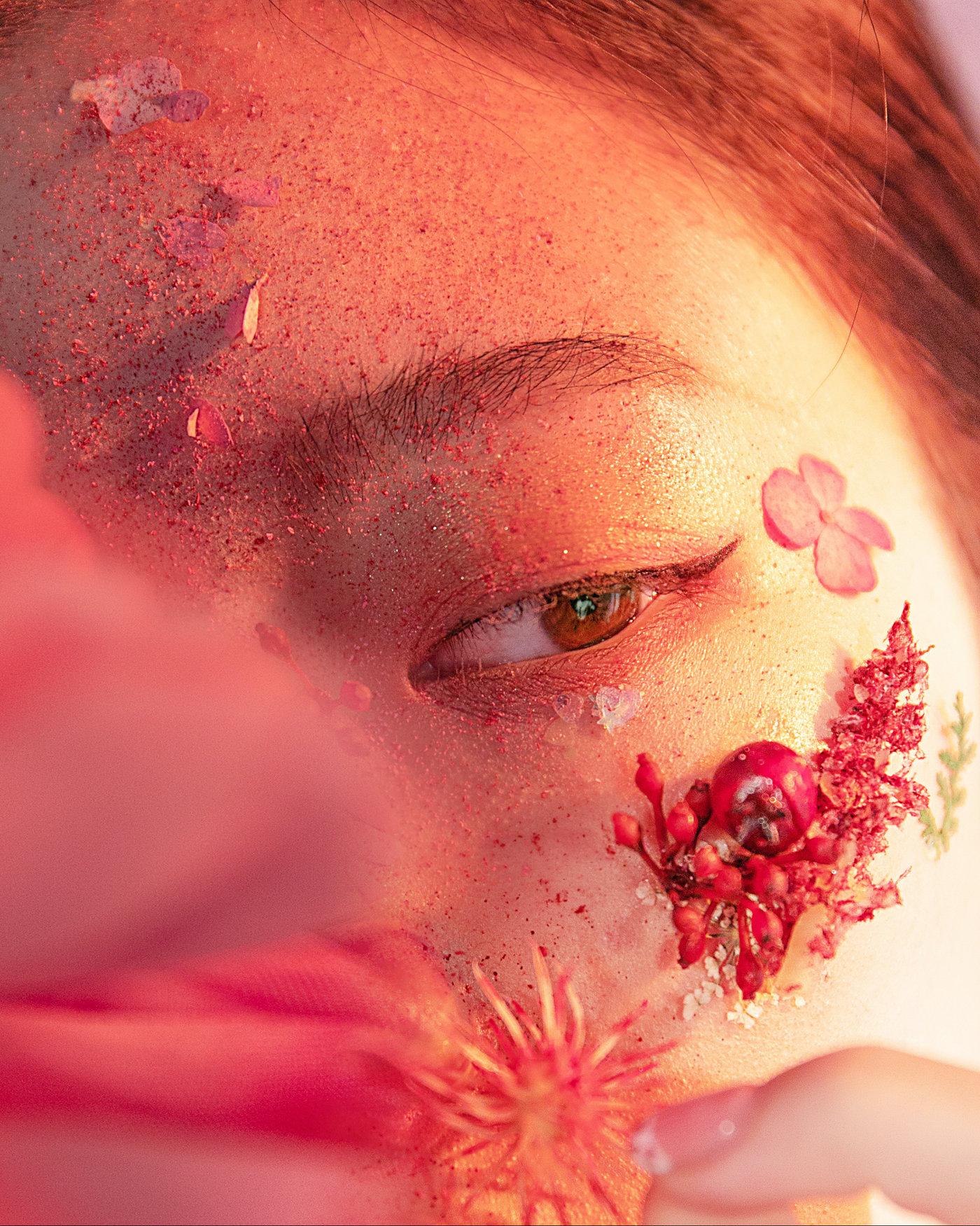 美妆创作-繁花6
