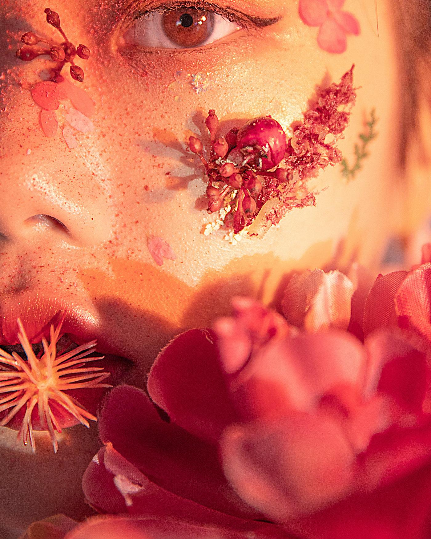 美妆创作-繁花10