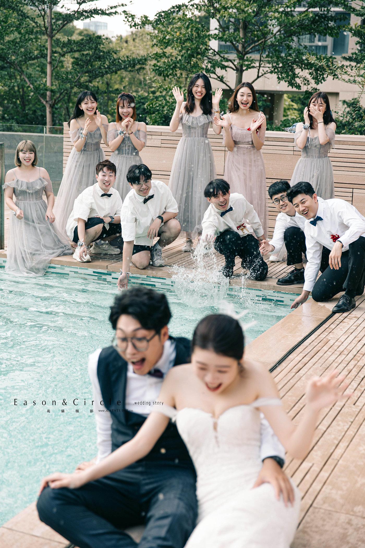 2021-06-05婚礼泳池外景拍摄6