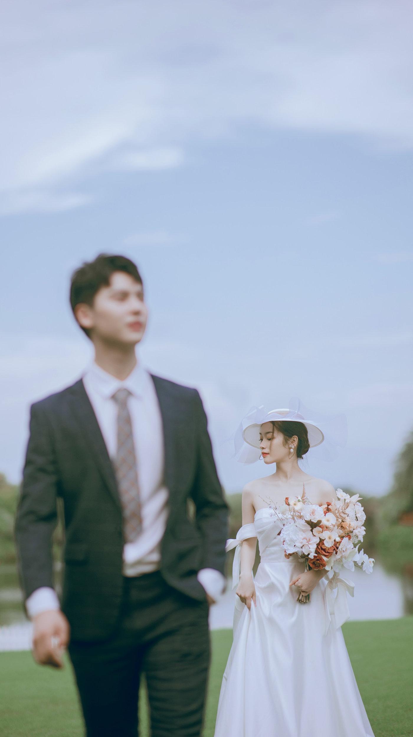 迪茵湖法式草坪婚纱照14