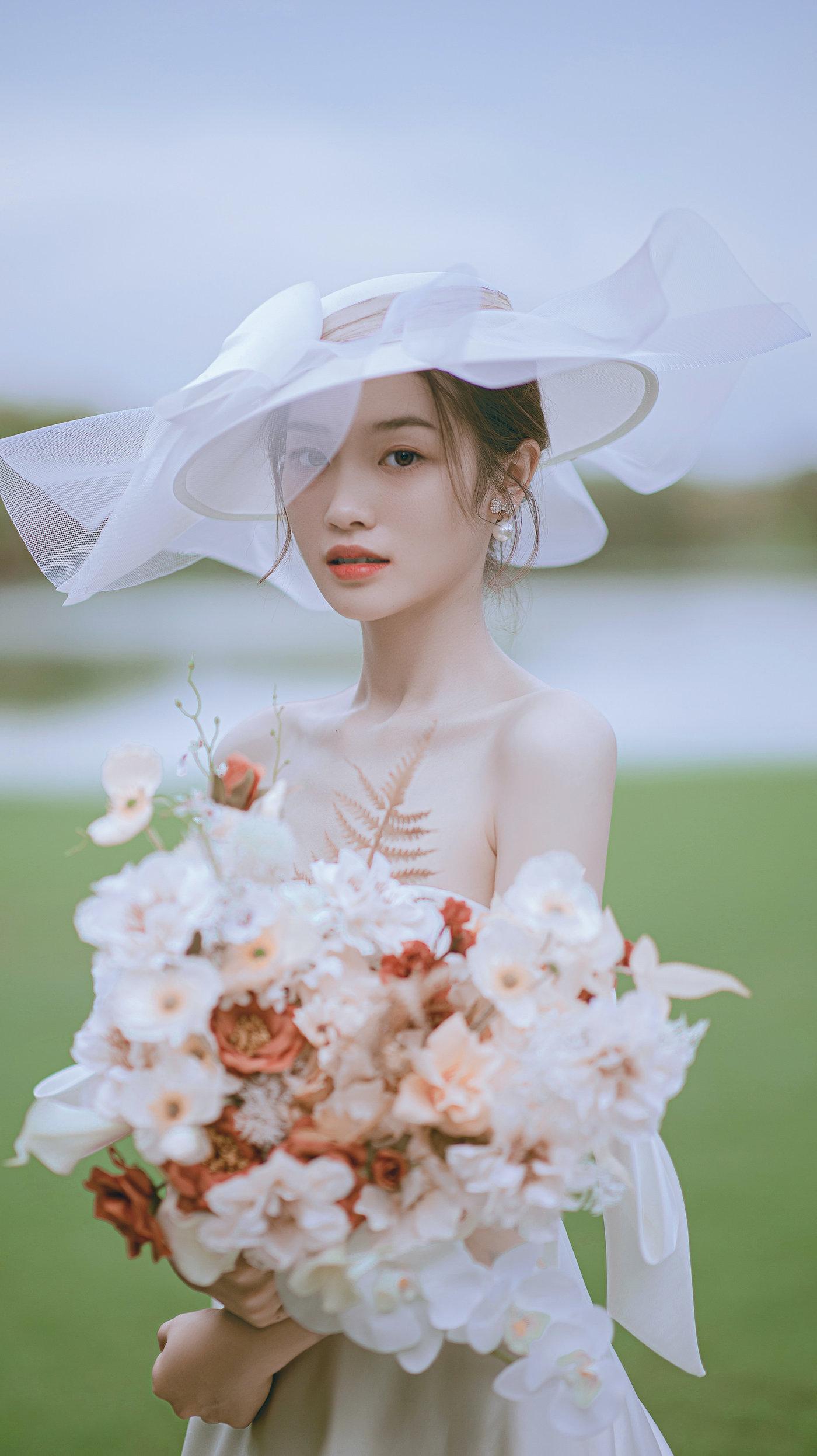 迪茵湖法式草坪婚纱照3