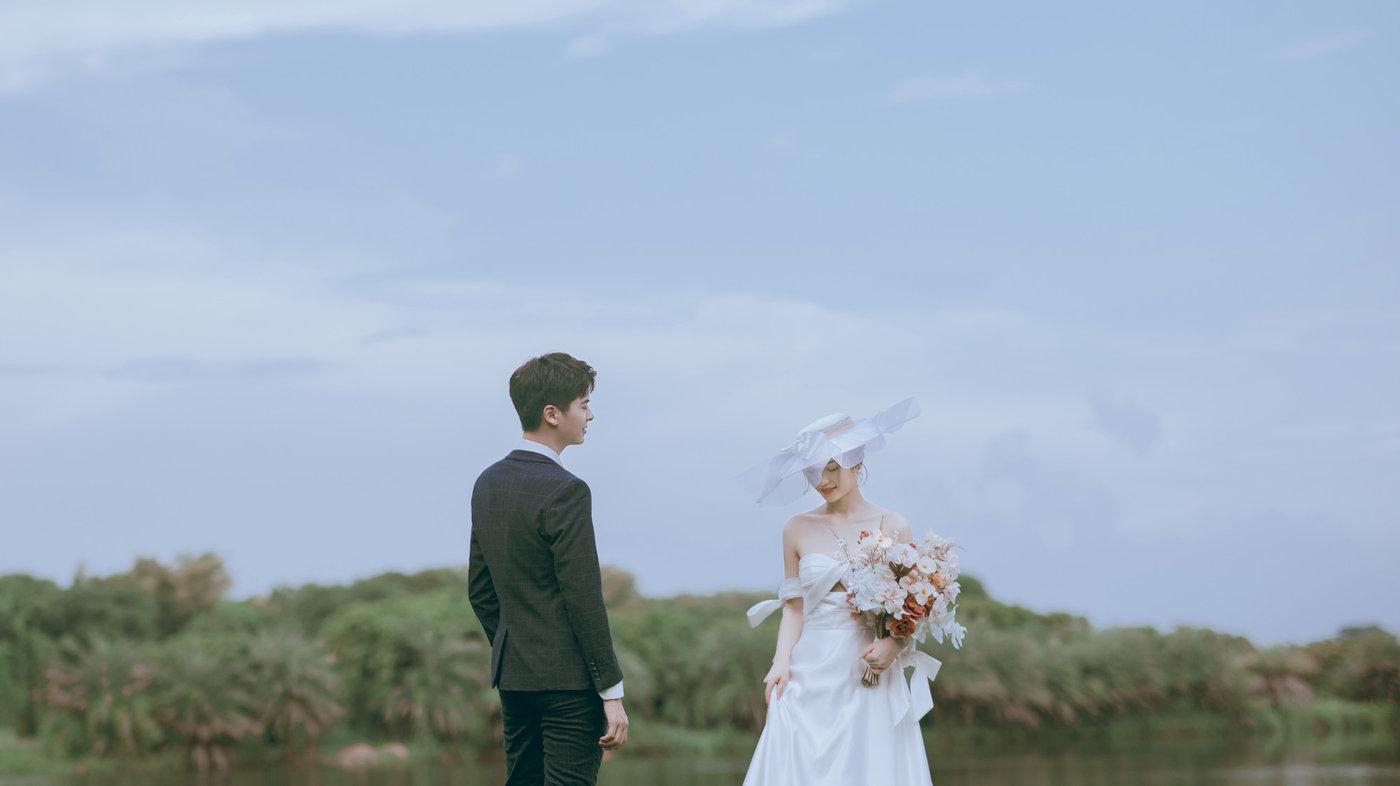迪茵湖法式草坪婚纱照13