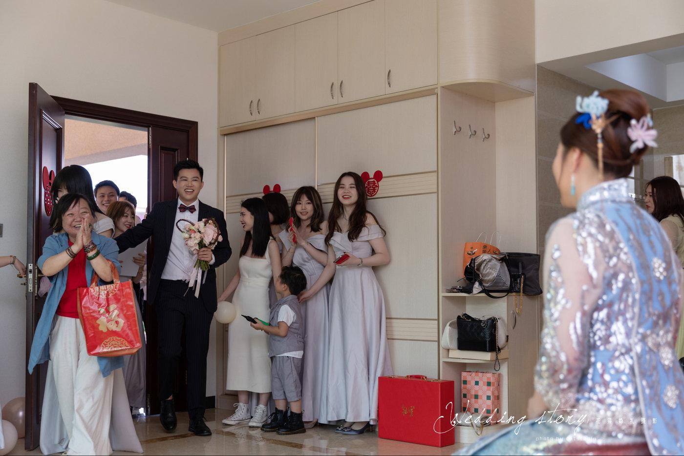 热闹婚礼跟拍出嫁19