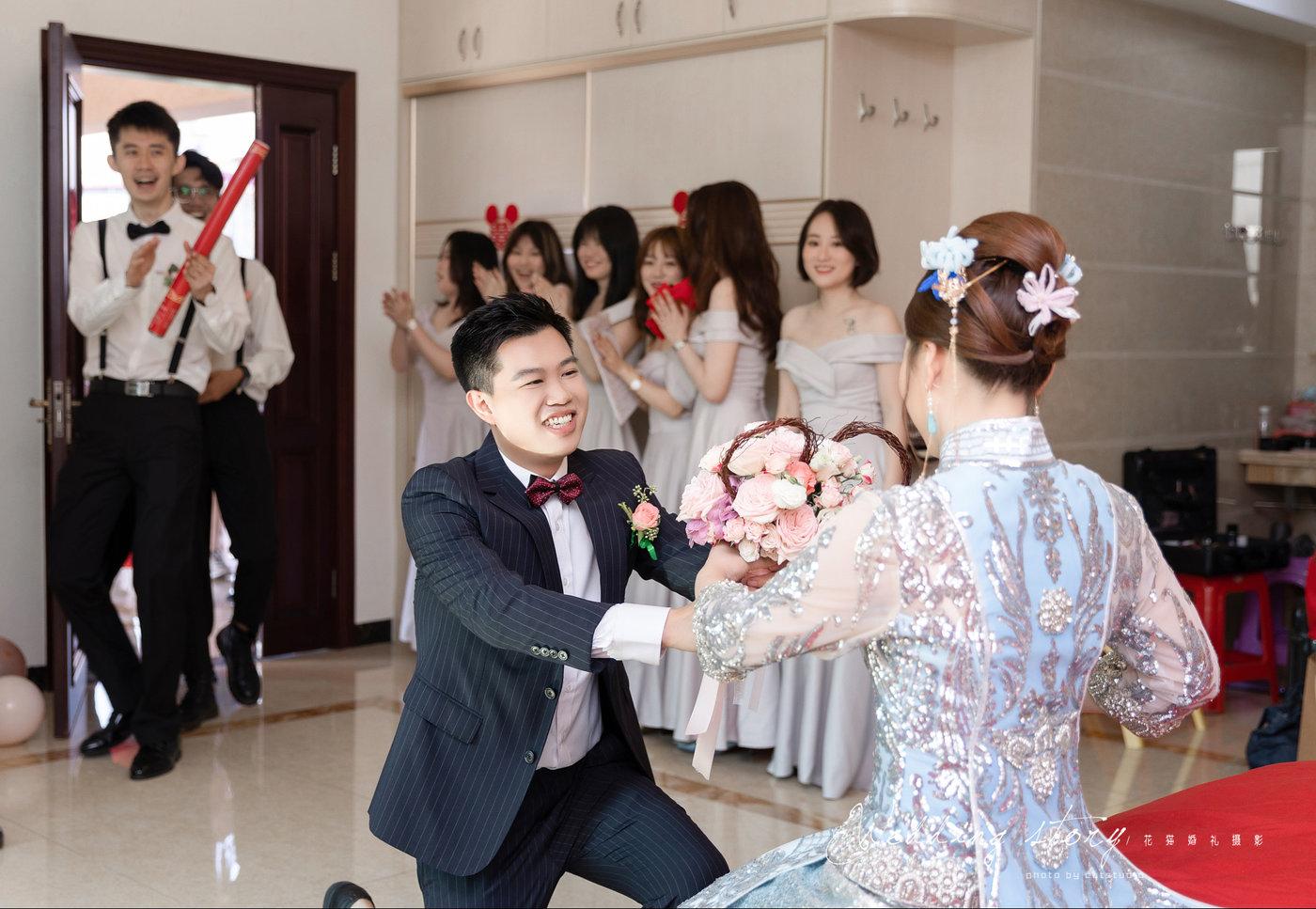 热闹婚礼跟拍出嫁20