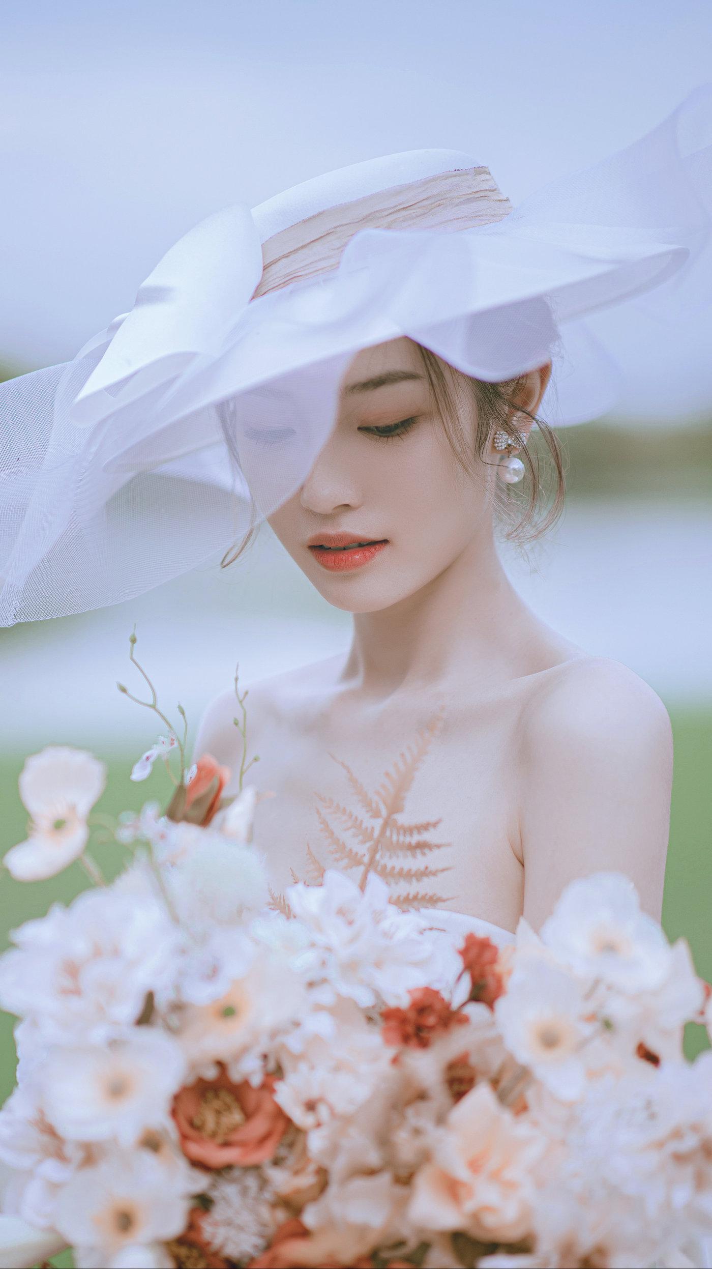 迪茵湖法式草坪婚纱照1