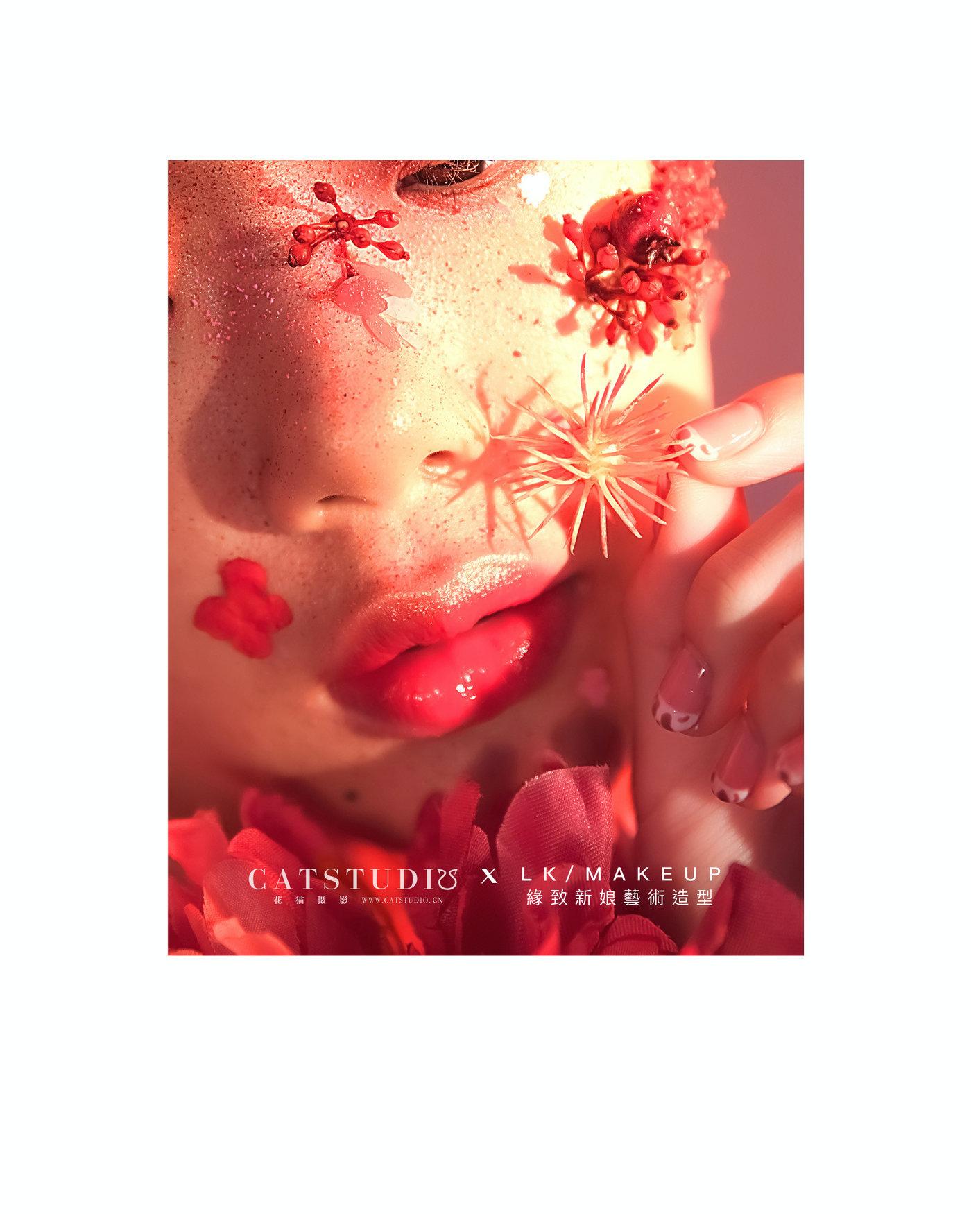 美妆创作-繁花1