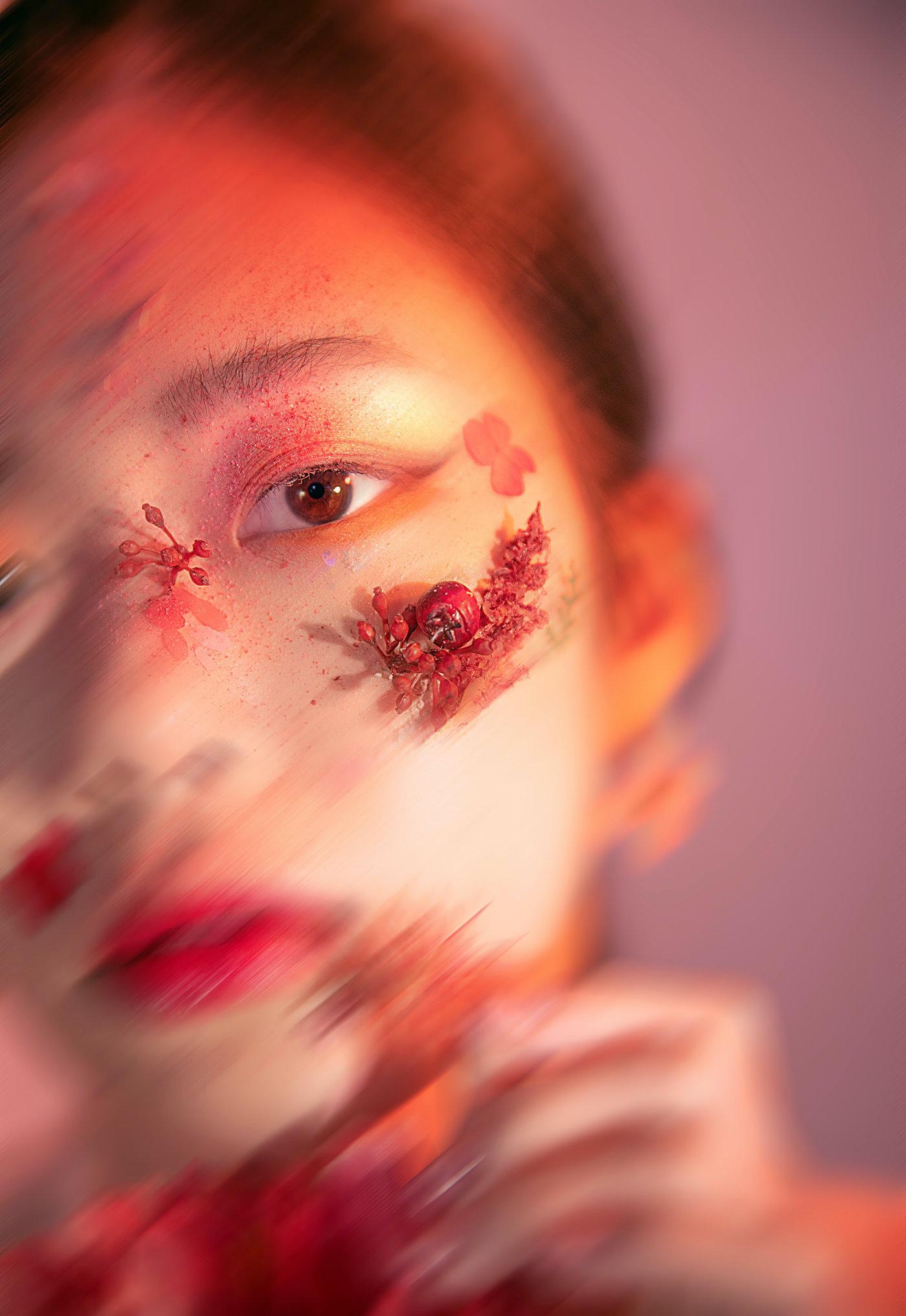 美妆创作-繁花9
