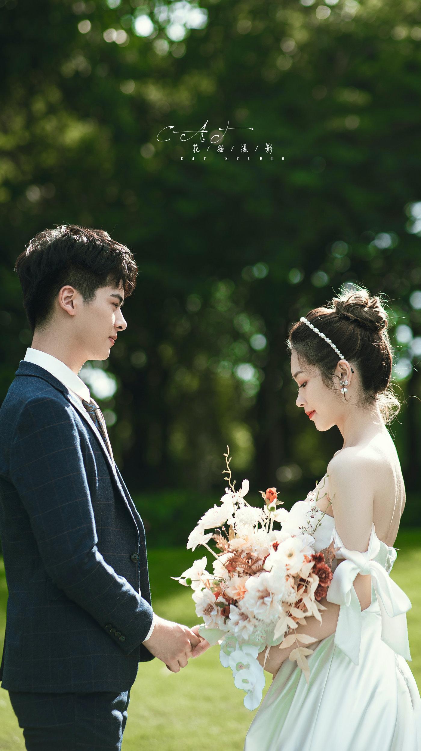 中山迪茵湖婚纱照5