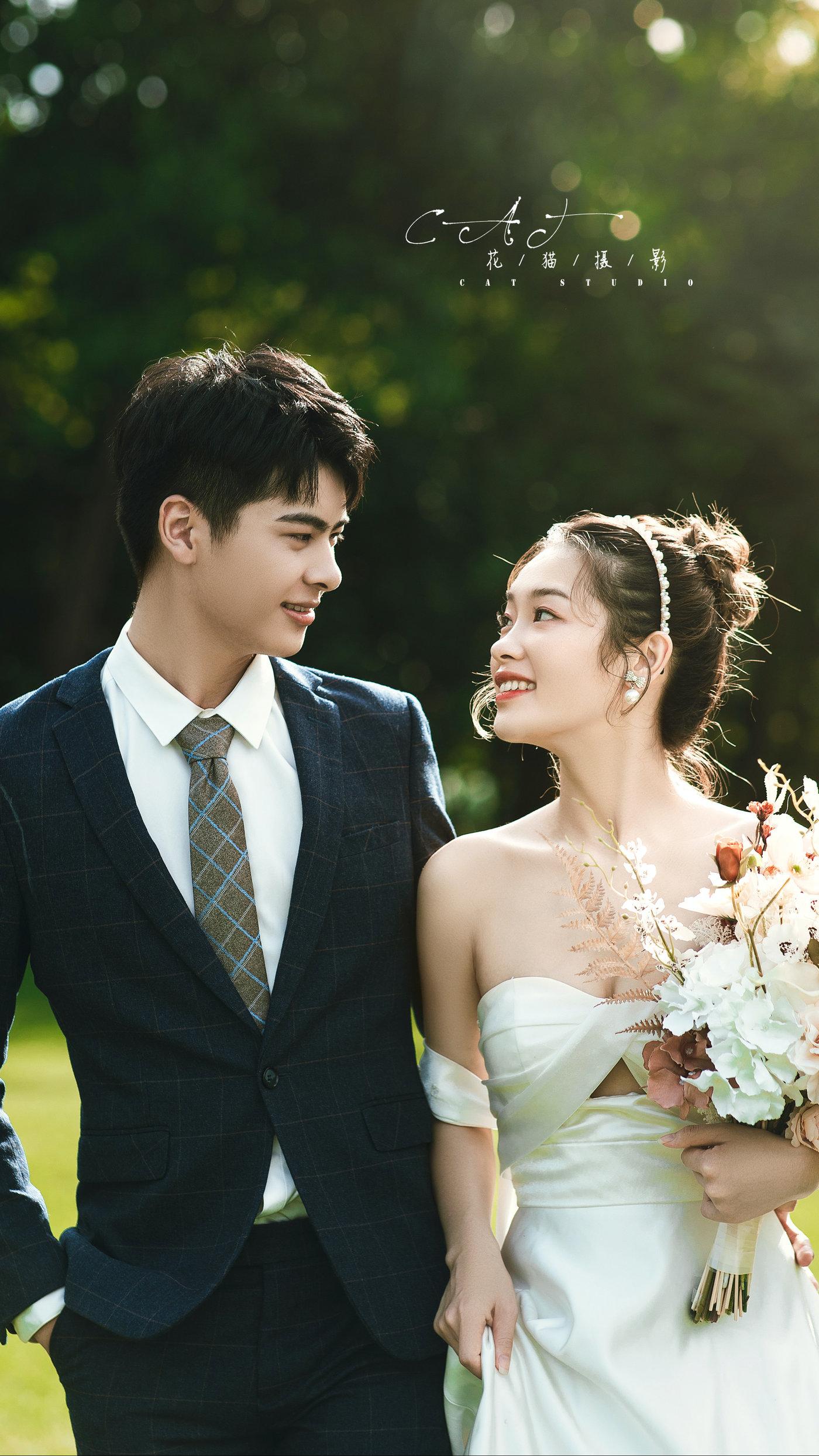中山迪茵湖婚纱照8
