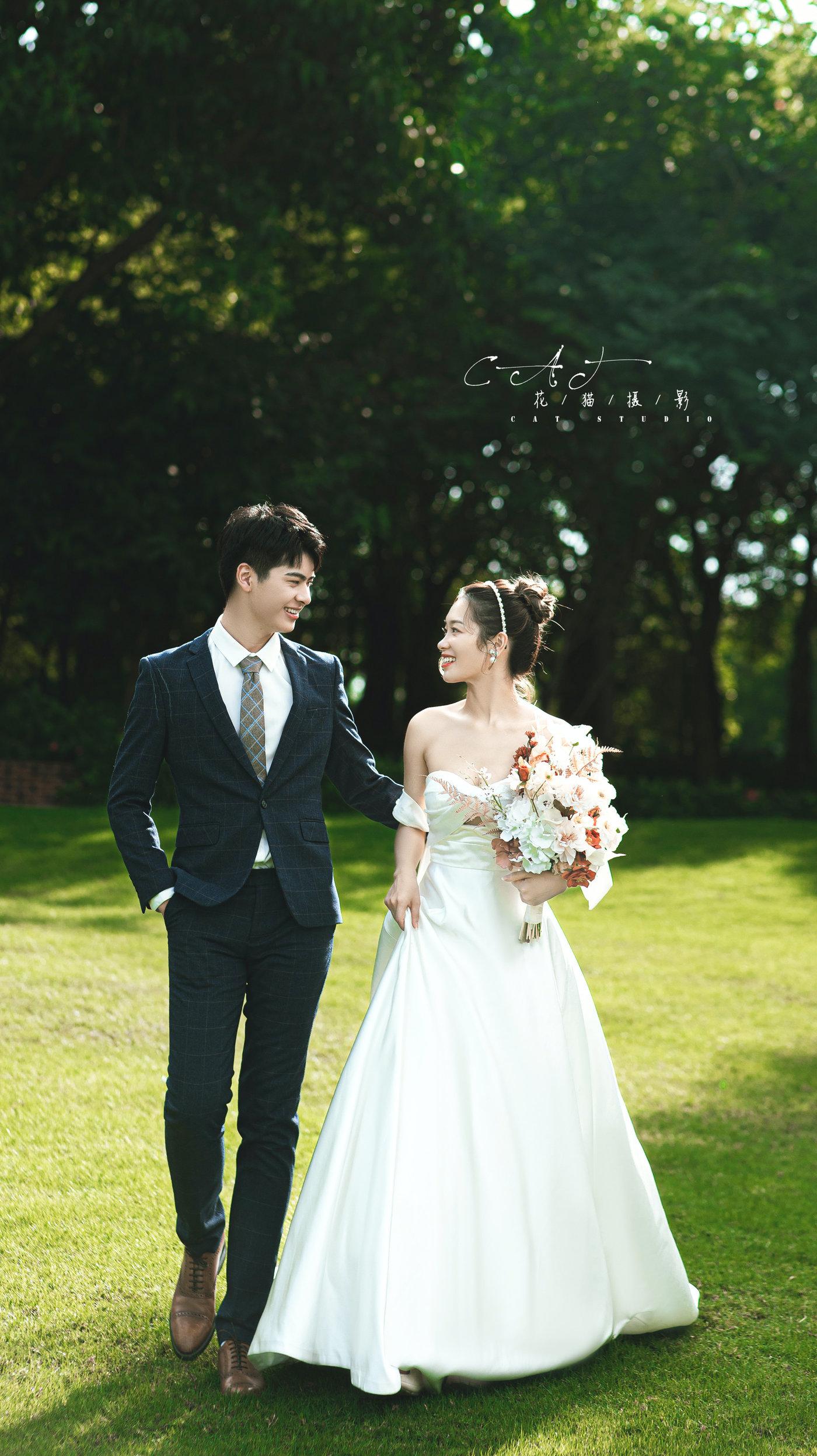 中山迪茵湖婚纱照9